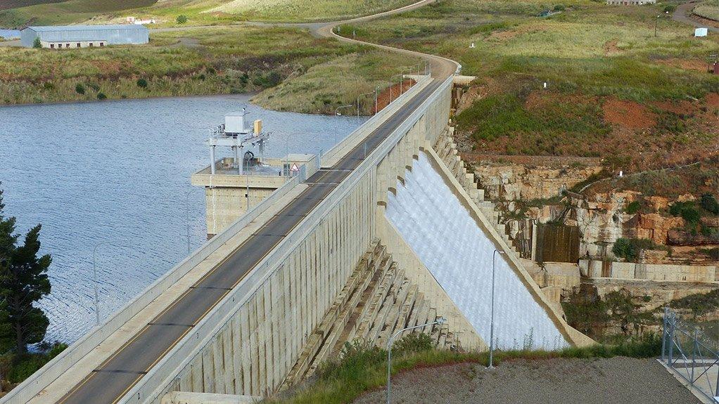 Metolong Dam Lesotho